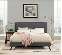 Load image into Gallery viewer, QUEEN BED FRAME MOD-5904-GRY