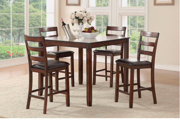 5 PCS DINING SET- F2546