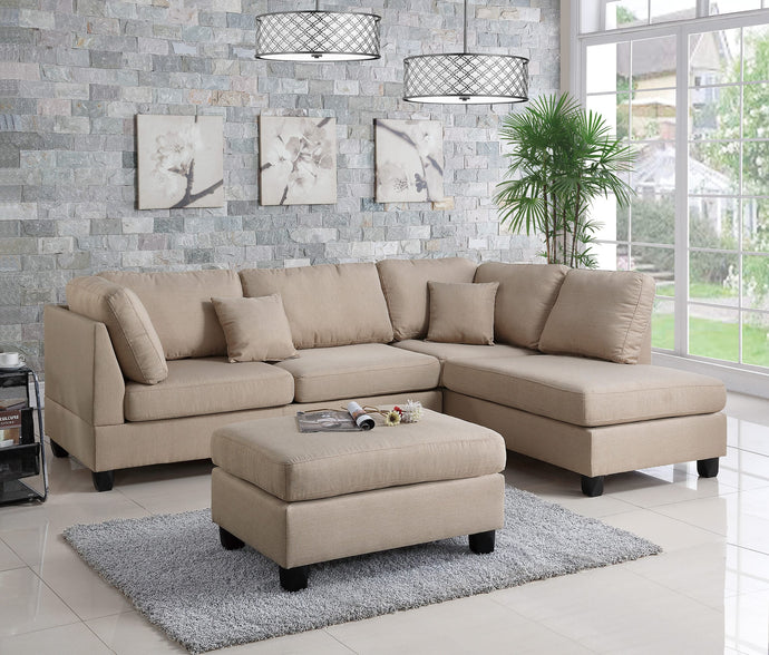 3-Pcs Sectional Set F7605PX