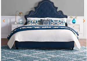 QUEEN BED FRAME MOD-5808-NAV