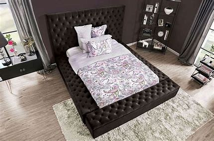 QUEEN BED FRAME ONLY 7897QBK-FOA