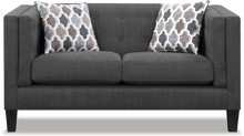 Load image into Gallery viewer, Sawyer Modern Loveseat with Track Arms