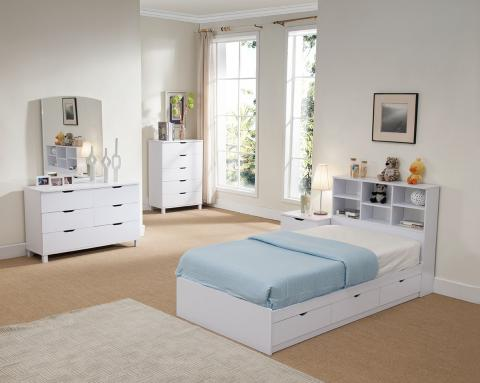 TWIN CHEST BED Y1101T/2T