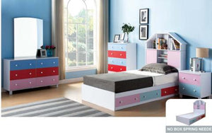 TWIN CHEST BED Y1301/2T