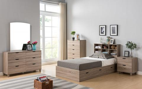 TWIN CHEST BED Y1401/2T