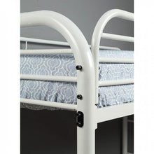 Load image into Gallery viewer, FOA TWIN/FULL BUNK BED CM-BK931WH-TF