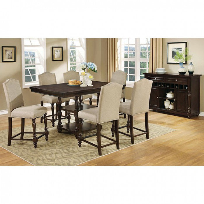 Hurdsfield II  CM3133-7 PCS PUB DINING SET-FOA