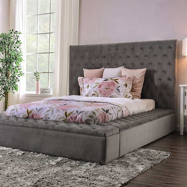 QUEEN BED FRAME ONLY 7897QGY-FOA