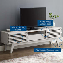 Load image into Gallery viewer, TV Stand in White EEI-2541