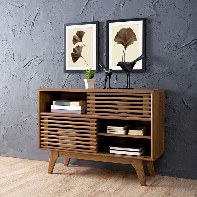 Render Display Stand in Walnut Code: EEI-2542-WAL