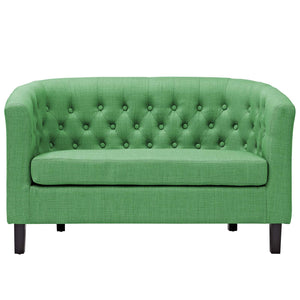 Upholstered Fabric Loveseat  EEI-2614