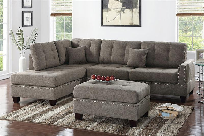 3-Pcs Sectional Sofa F6504PX