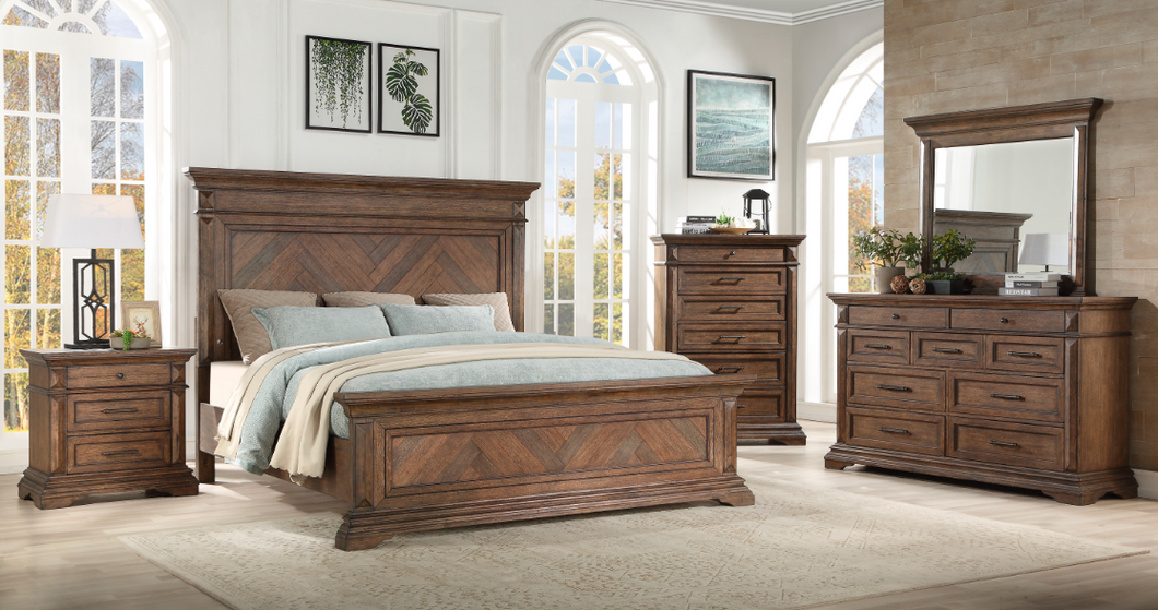 QUEEN BEDROOM SET 4PC  -MAR VISTA NCH