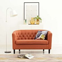 Load image into Gallery viewer, Upholstered Fabric Loveseat  EEI-2614