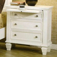 Load image into Gallery viewer, Sandy Beach Night Stand with 3 Drawers