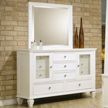 Load image into Gallery viewer, Sandy Beach Dresser and Mirror-COA