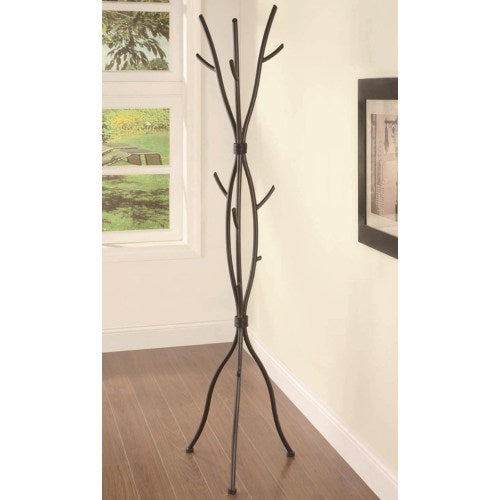 Accent Racks Branch Style Metal Coat Rack