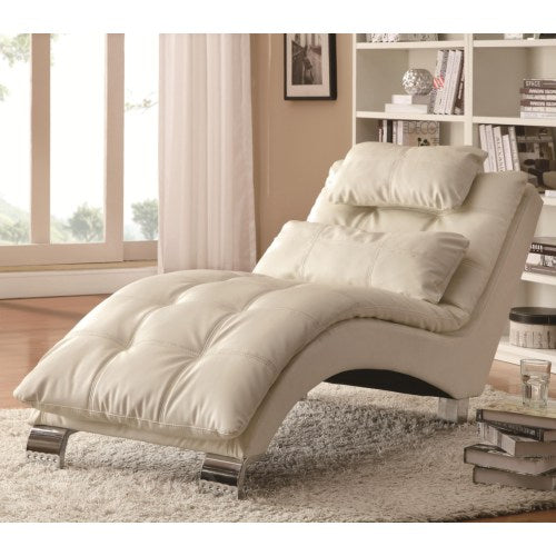 Accent Seating Casual and Contemporary Living Room Chaise with Sophisticated Modern Look
