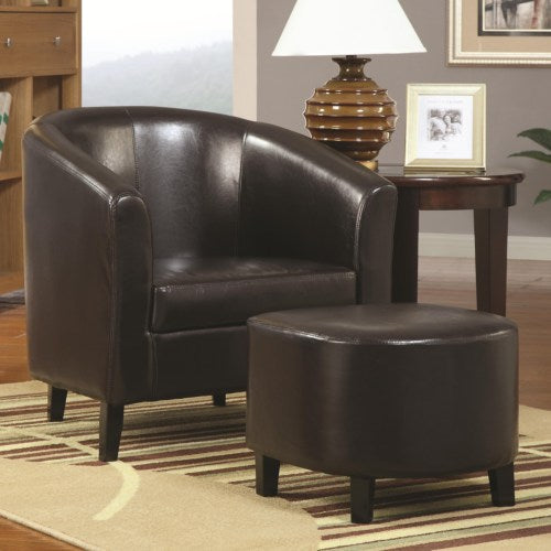 Accent Seating Accent Chair w/ Ottoman