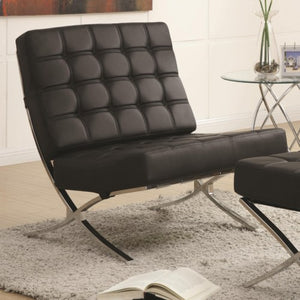 Accent Seating Contemporary Waffle Accent Chair