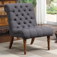 Load image into Gallery viewer, Accent Seating Tufted Accent Chair without Arms