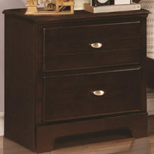 Load image into Gallery viewer, Ashton Collection Night Stand with 2 Drawers