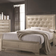 Load image into Gallery viewer, Beaumont Upholstered King Bed with Button Tufting