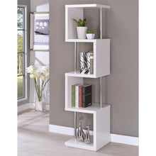 Load image into Gallery viewer, Bookcases Modern Four Tier Bookcase
