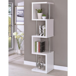 Bookcases Modern Four Tier Bookcase