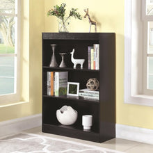 Load image into Gallery viewer, Bookcases 3 Shelf Transitional Bookcase