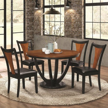 Load image into Gallery viewer, Boyer Contemporary 5 Piece Table and Chair Set with Two-Tone Finish