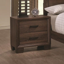 Load image into Gallery viewer, Brandon Transitional Two Drawer Nightstand
