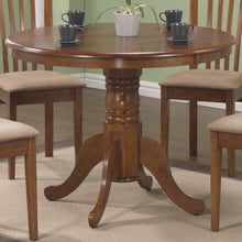 Load image into Gallery viewer, Brannan Round Single Pedestal Dining Table