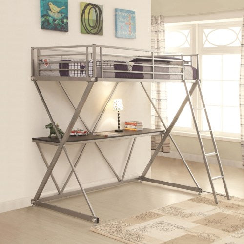 Bunks Twin Workstation Loft Bed with Desk
