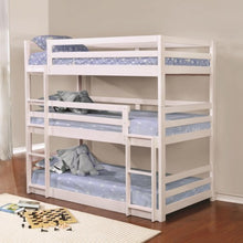 Load image into Gallery viewer, Bunks Triple Layer Bunk Bed