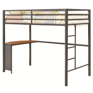 COASTER BUNKS TWIN METAL WORKSTATION LOFT BED 460229