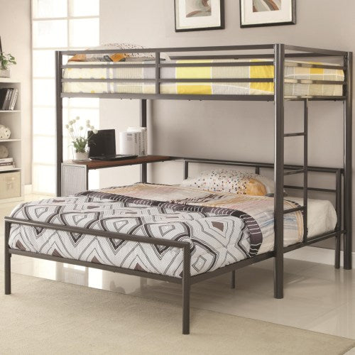 COASTER BUNKS TWIN WORKSTATION BED  460229
