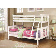 Load image into Gallery viewer, Bunks Traditional Twin over Full Bunk Bed