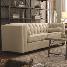 Load image into Gallery viewer, Cairns Stationary Sofa & Love with Tufted Back and Lumbar Pillows-COA