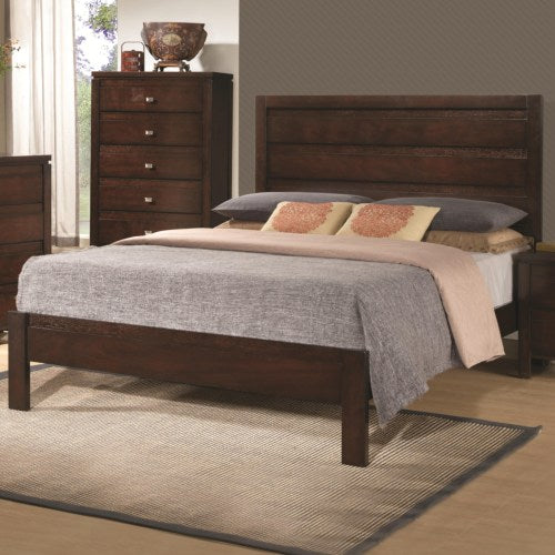 Cameron King Bed with Panel Headboard and Footboard