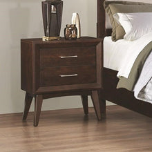 Load image into Gallery viewer, Carrington Night Stand with Two Dovetail Drawers