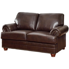 Load image into Gallery viewer, Colton Traditional Love Seat with Rolled Arms