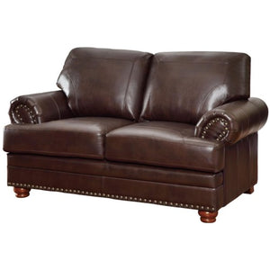 Colton Traditional Love Seat with Rolled Arms