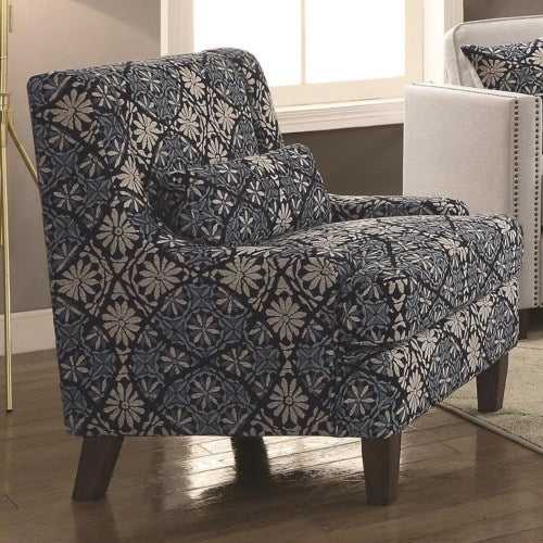 Coltrane by Coaster Transitional Chair with Nail Head Trim