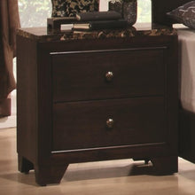 Load image into Gallery viewer, Conner Nightstand with Faux Marble Top