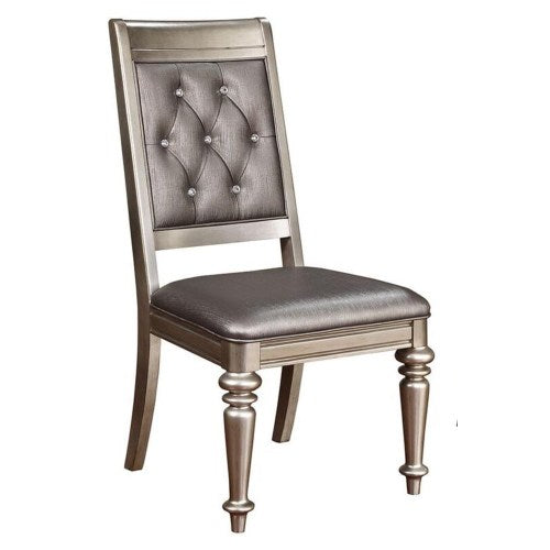 Danette Upholstered Side Chair with Tufted Back