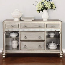Load image into Gallery viewer, Danette Dining Server with Metallic Finish