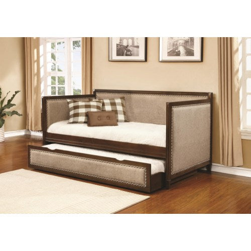 Daybeds by Coaster Traditional Daybed with Upholstered Sides