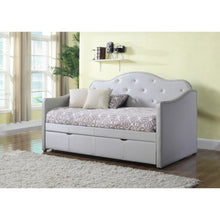 Load image into Gallery viewer, Daybeds by Coaster Upholstered Daybed with Trundle