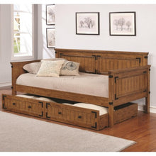 Load image into Gallery viewer, Daybeds by Coaster Rustic Daybed with Trundle